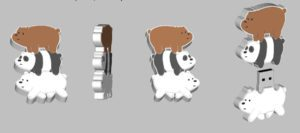 Prototyping and 3D Modeling Bears