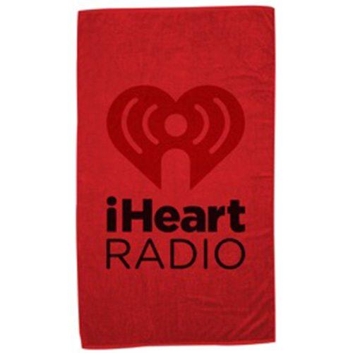 I Heart Radio Red Blanket