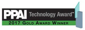 PPAI Technology Award 2017 Gold Winner
