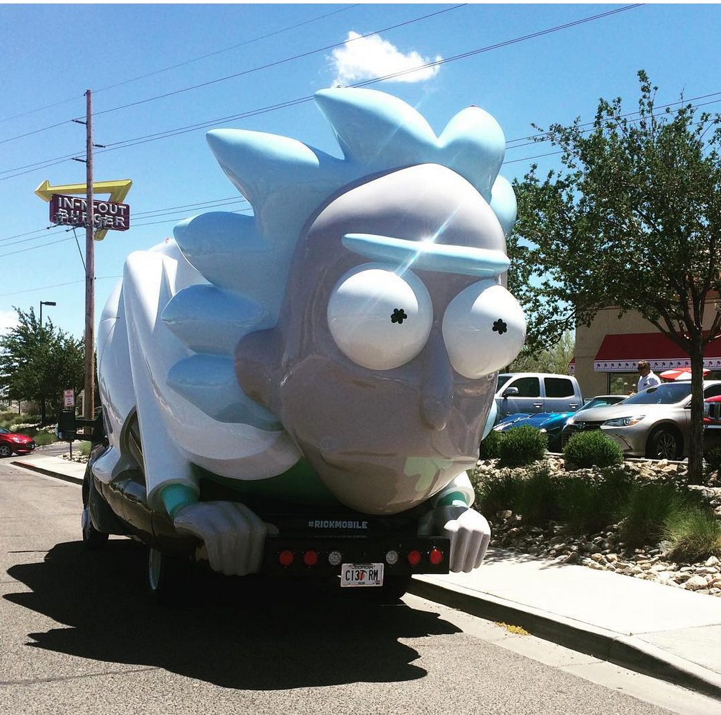 Mini Mobile Rick and Morty