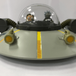 Rick and Morty Space Ship